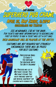 USS Cares Superhero Pub Crawl