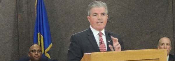 Suffolk County Executive Steve Bellone Delivers State of the County to Packed Room in Hauppauge