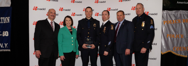 MADD LI Honors Rockville Centre Officer
