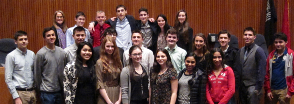 Councilwoman Berland's Youth Council Hosts Eight