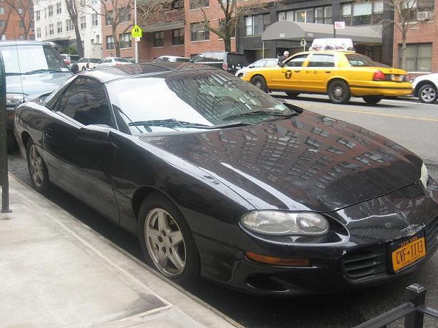 1998 black chevy camaro 4 3 v6 for sale 3800 new york. Black Bedroom Furniture Sets. Home Design Ideas