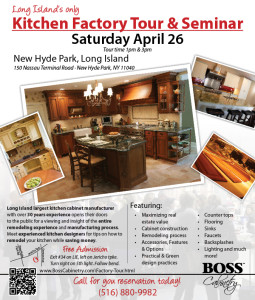 Kitchen Factory Tour & Seminar @ Boss Cabinetry | New Hyde Park | New York | United States