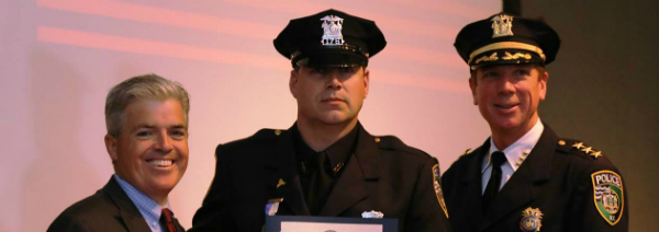 Bellone Honors Top Cops