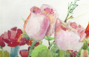 Watercolors and Words: Painting Flowers and Fruit @ Gallery North | Miller Place | New York | United States