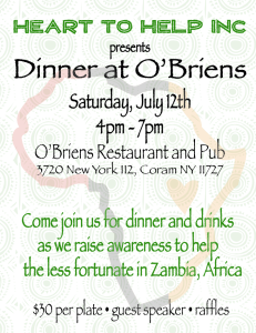 Benefit Diner at O'Briens @ O'Briens Bar and Grill