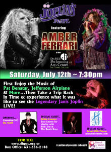 Joplin's Pearl featuring Amber Ferrari @ Dix Hills Performing Arts Center | Dix Hills | New York | United States
