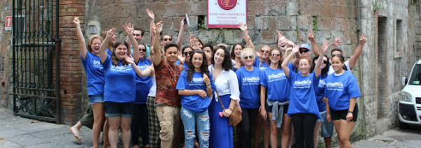 Suffolk Students Say Arrivederci to Italy After Fo