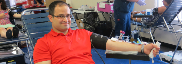 Ra, Montesano Thanks Community for Making Blood Dr