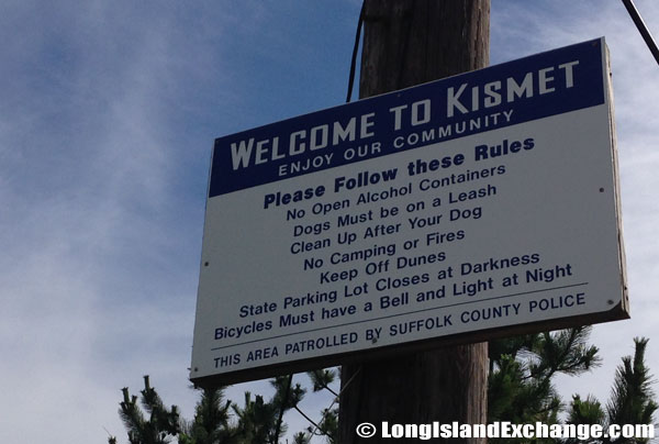 Kismet Community Sign