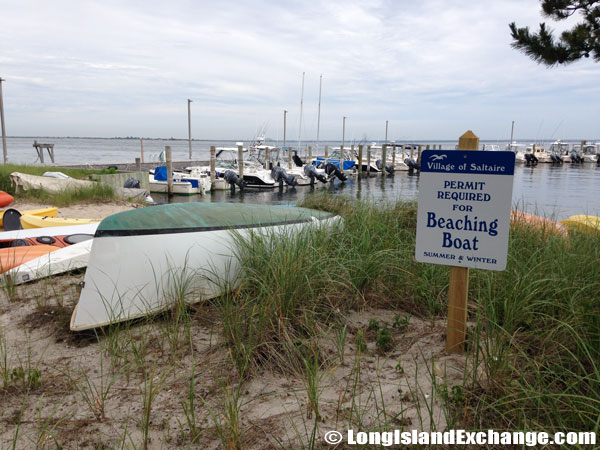 Permit Required Beaching Boats