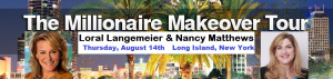 Millionaire Makeover Tour @ Courtyard by Marriott