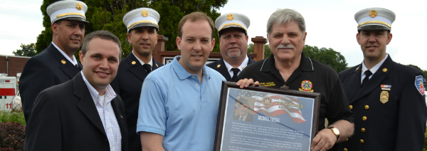 Senator Lee Zeldin Honors NYS VFW Commander Mike P