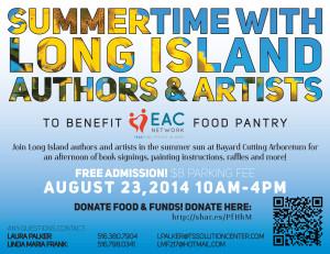 SUMMERTIME with Long Island Authors & Artists @ Bayard Cutting Arboretum | West Islip | New York | United States