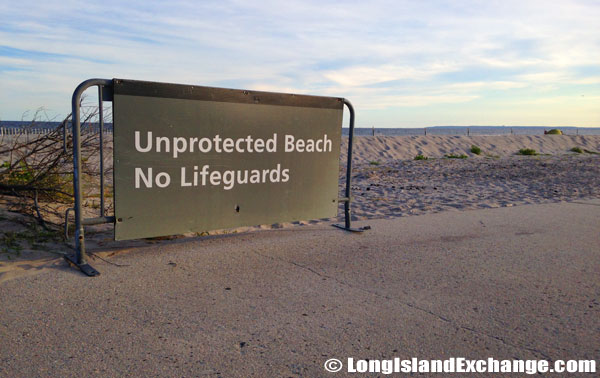Fort Tilden Unprotected Beach
