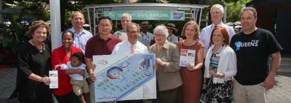 Queens Kiosk Serves Borough's Best to Tennis Tou