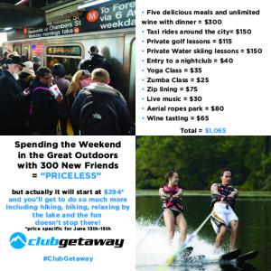 Club Getaway Labor Day Weekend @ Club Getaway | Kent | Connecticut | United States