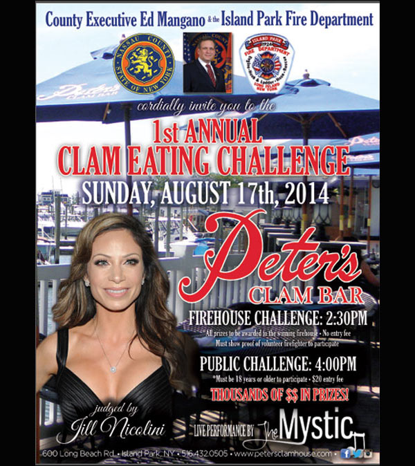 1st Annual Long Island Clam Eating Contest @ Peter's Clam Bar | Island Park | New York | United States