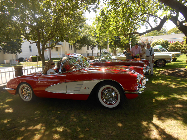 Seventh annual antique car show at the southampton Southampton motor cars