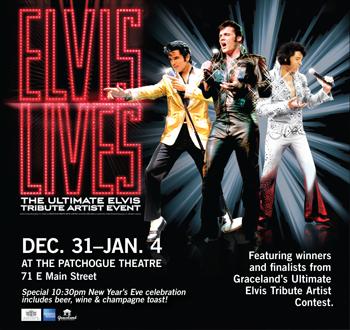 the king is back elvis lives the ultimate elvis tribute artist event ...