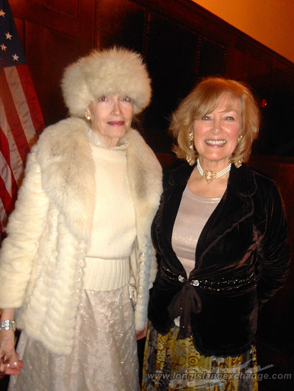 Museum Author Monica Randal and Board Member Victoria Crosby