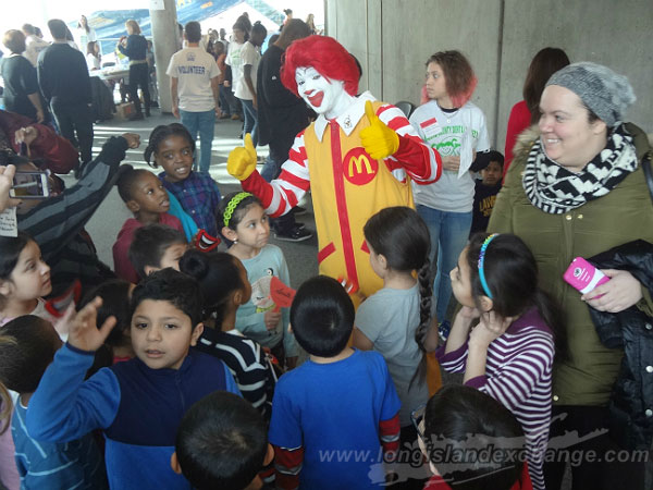 Nassau County Dental Society and Long Island McDonald Help to Give Kids A Smile