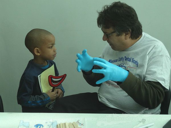 Nassau County Dental Society and Long Island McDonald Help to Give Kids A Smile