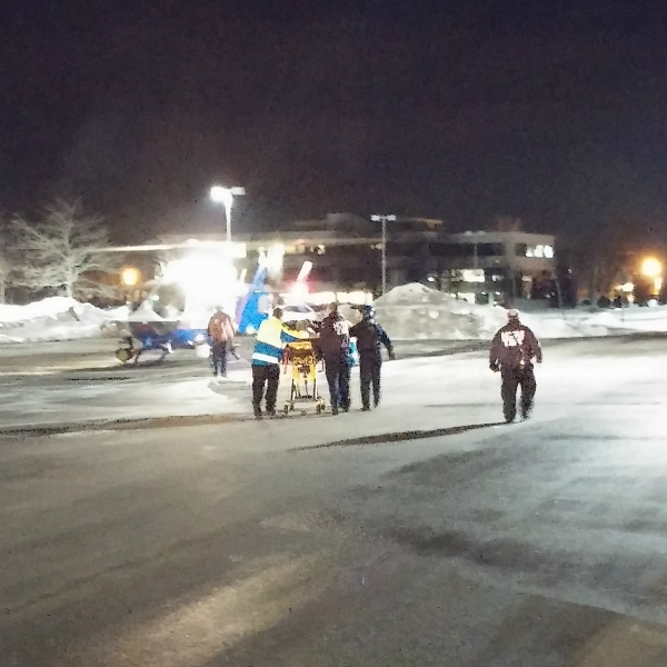 Huntington community first aid squad assists injured for Motor vehicle long island
