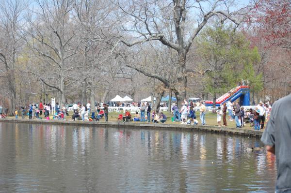 State to sponsor spring family fishing fesitval at belmont for Freshwater fishing long island
