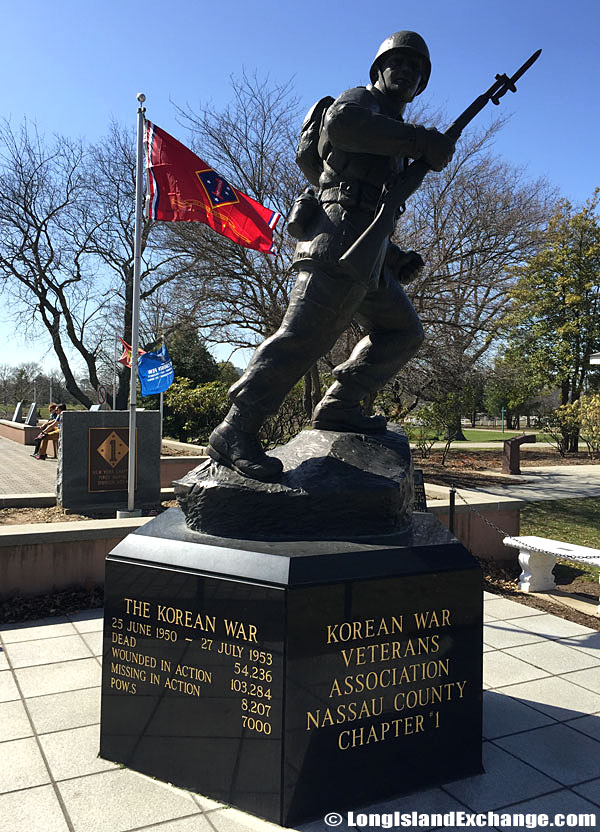 Korean War Statue