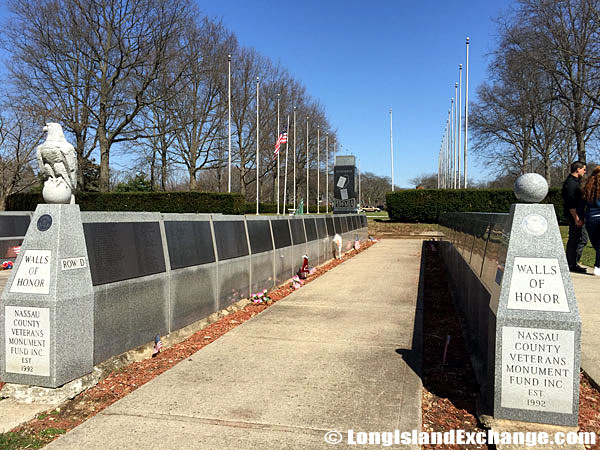 Walls of Honor in Eisenhower Park