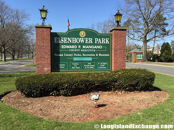 Eisenhower Park Entrance