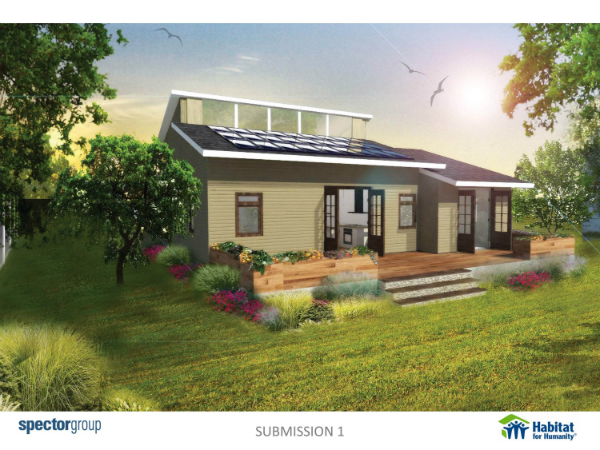 Habitat For Humanity Of Nassau And Spector Group Unveil New Habitat Housing Designs Today