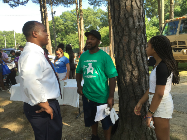 Gregory at National Night Out