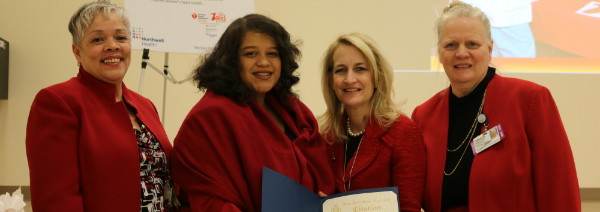 Assemblywoman Solages Supports Women's Heart Hea