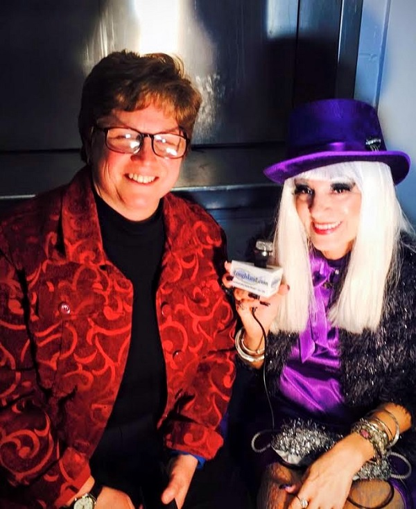 Cognac with Laura Ruhl.