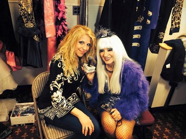 Singer Amber Ferrari and Cognac
